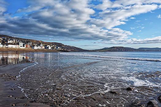 February Seascape - Lyme Regis by Susie Peek