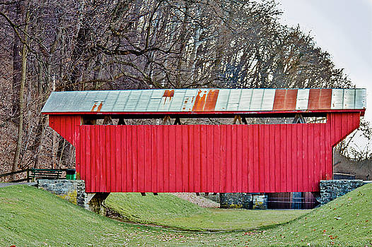Jack R Perry - Feedwire Road Covered Bridge