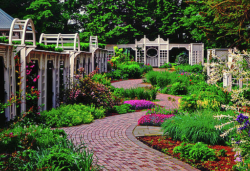 Fellows Gardens - Youngstown Ohio by George Bostian
