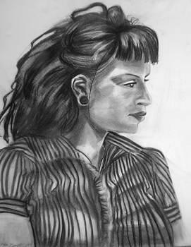 Female Classic Portrait by Candace Barnett