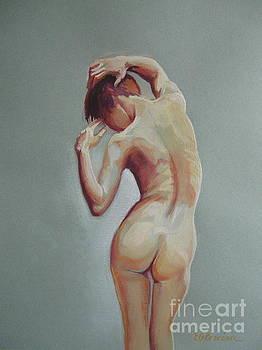 Female nude 2 by Elena Oleniuc