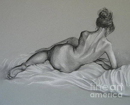 Female nude by Elena Oleniuc