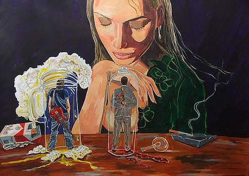 Femina deciding by Lazaro Hurtado