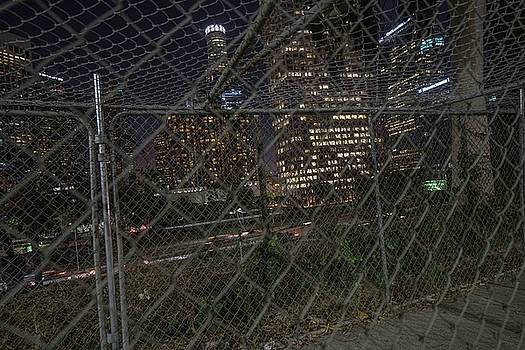 Fenced In City  by Kenneth James