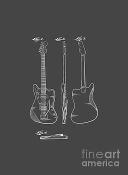 Edward Fielding - Fender Guitar Drawing Tee