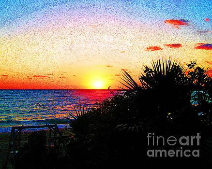 Fernandez Bay Sunset by Joseph Re