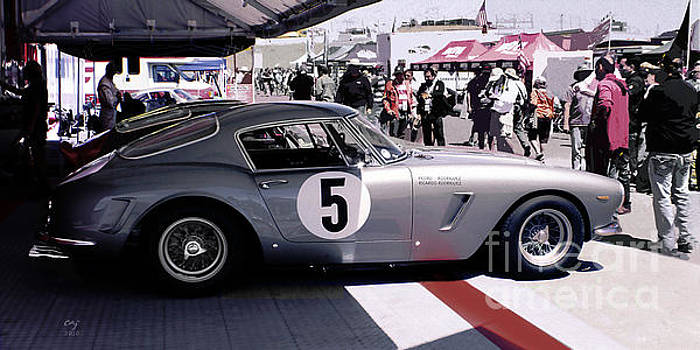 Ferrari 250 GT Bertinetta by Curt Johnson