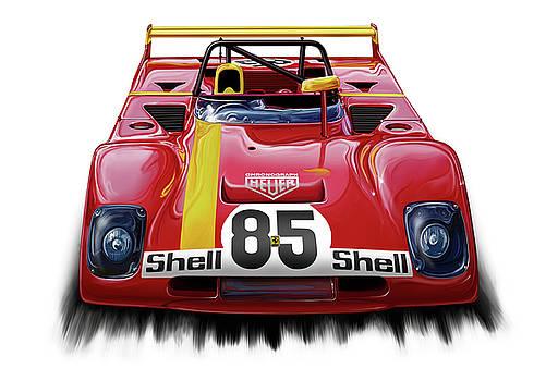 Ferrari 312PB Group 6 by David Kyte
