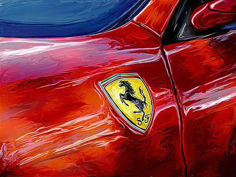 Ferrari Badge by David Kyte