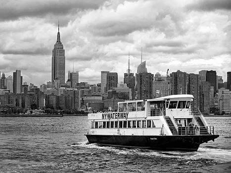 Ferry Ride to Manhattan by Dave Mills