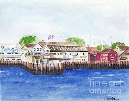 Ferry to Greenport by Sheryl Heatherly Hawkins