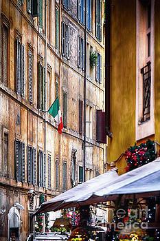 Festive Street by George Oze
