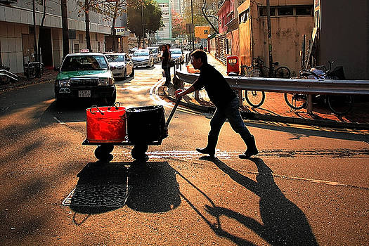Fetching Water by Janet Pancho Gupta
