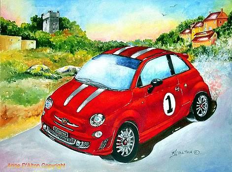 Fiat 500 Abarth by Anne Dalton