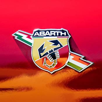 Jill Reger - Fiat Abarth Emblem -ck1611c2