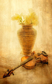 Fiddle and Flowers by Tylie Duff