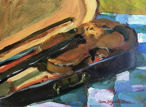 Fiddle or Violin by Susan E Jones