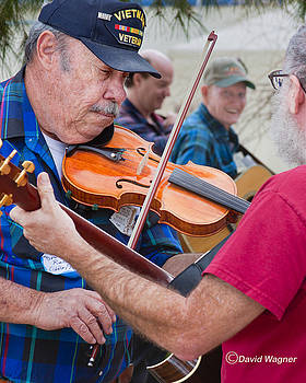 Fiddlers Contest by David Wagner