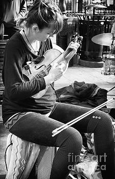 Kathleen K Parker - Fiddling Around in Jackson Square-NOLA