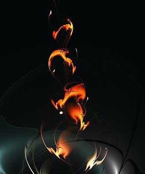 Fiery Flower by Anastasiya Malakhova