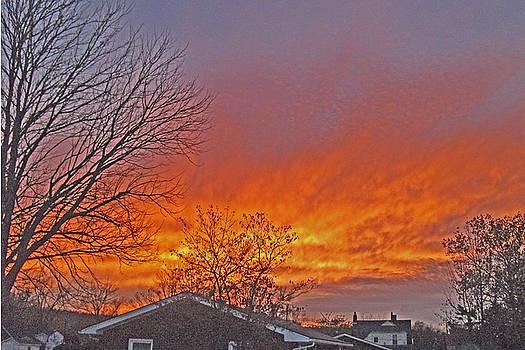 Fiery Sunrise by Skyler Tipton