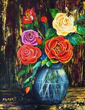 Fiesta Roses by Jane Ricker
