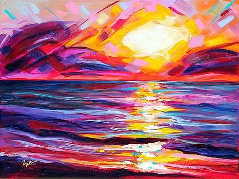 Fiesta Sunset by Eve  Wheeler