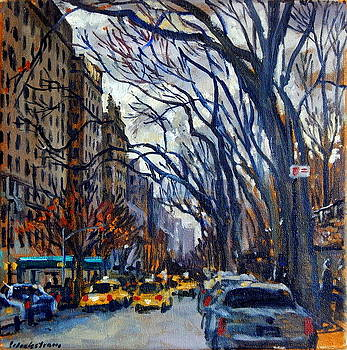 Fifth Avenue in November by Thor Wickstrom