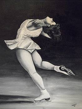 Figure Skater 1 by Ron  Genest