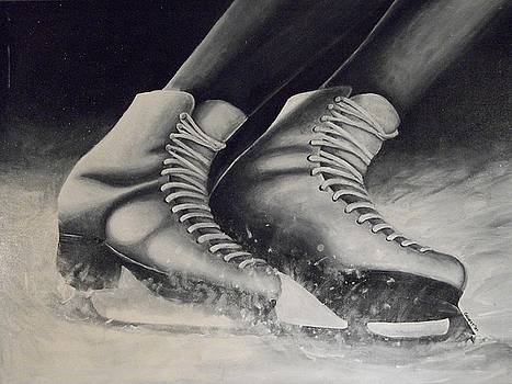 Figure Skates by Ron  Genest