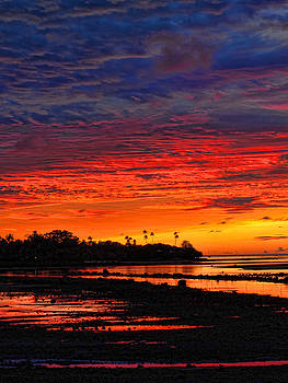 Fiji Sunrise by Brian Governale