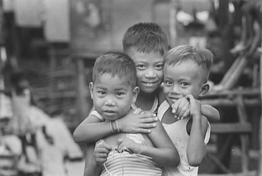 Filipino boys by Jim Wright
