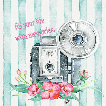 Fill Your Life With Memories by ShabbyChic fine art Photography
