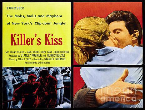 Film Noir Poster  Killers Kiss by R Muirhead Art