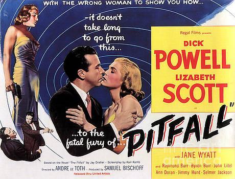 Film Noir Poster  Pitfall by R Muirhead Art