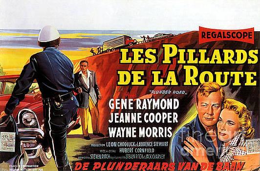 Film Noir Poster   Plunder Road by R Muirhead Art
