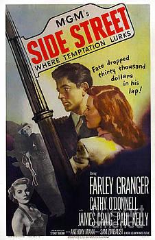 Film Noir Poster  Side Street by R Muirhead Art