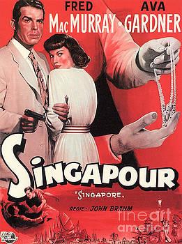 Film Noir Poster  Singapore by R Muirhead Art
