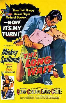 Film Noir Poster  The Long Wait by R Muirhead Art