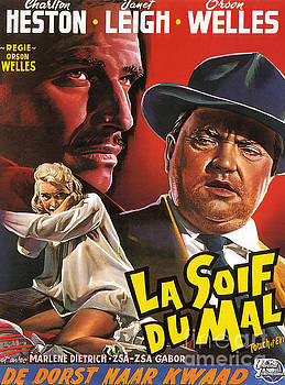 Film Noir Poster  Touch of Evil by R Muirhead Art
