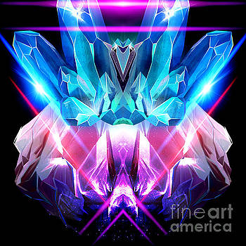 Fine Crystals  by Gayle Price Thomas