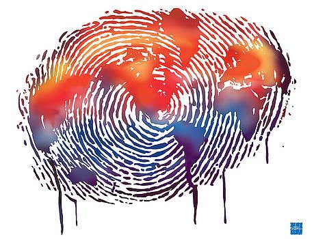 Sassan Filsoof - Finger print map of the world