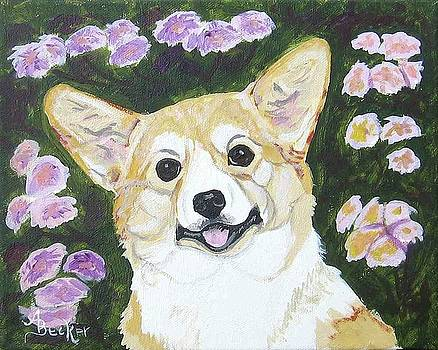 Fiona the Welsh Corgi by Ann Becker