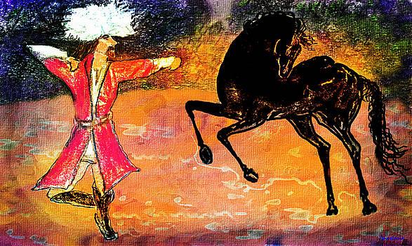 Firat and Shishan Dance I by Anastasia Savage Ealy