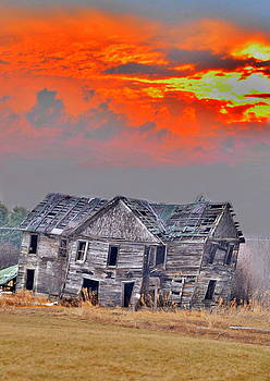 Emily Stauring - Fire Behind the Abandoned