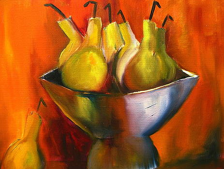 Fire Behind The Pears by Jeff Hunter