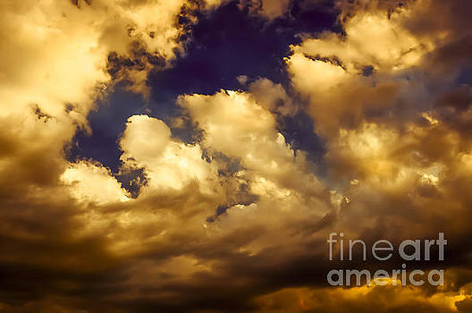 Fire Clouds by The Forests Edge Photography - Diane Sandoval