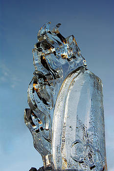 Fire in Ice Olympic Torch by Paul Wash