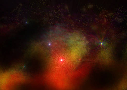 Fire Nebula by Ricky Haug