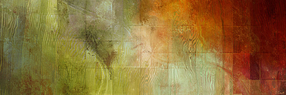 Fire On The Mountain - Abstract Art by Jaison Cianelli